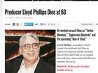 Morre o produtor de 'Os 12 macacos' e 'Bastardos inglórios', diz revista