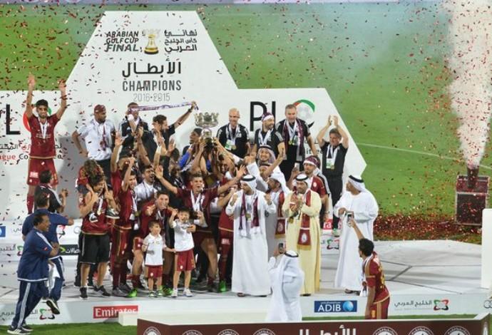 Al Wahda campeão Copa dos Emirados Árabes (Foto: Reprodução / Twitter)