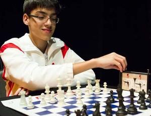 Caíque reda é destaque no xadrez em Itaúna (Foto: Mariana Neto / divulgação)