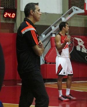 Basquete Flamengo x Macaé (Foto: Gabriel Fricke)