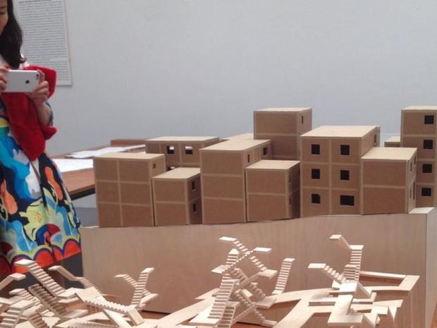 Projeto foi criado por arquiteto suíço para favela paulistana  (Foto: Guilherme Aquino/BBC )
