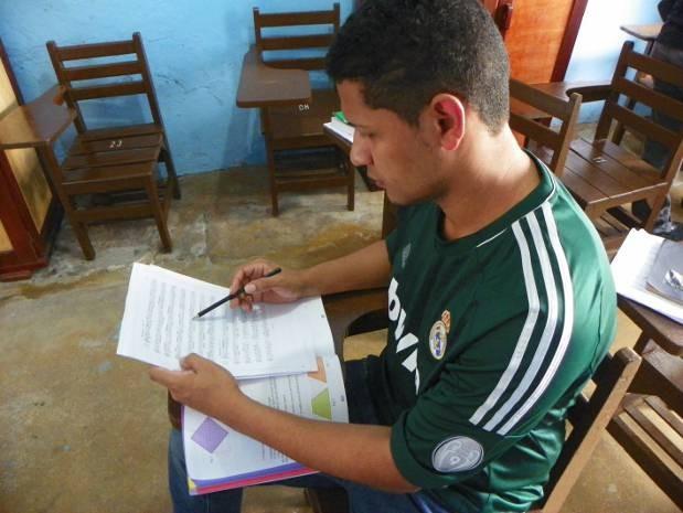 Quando foi preso, em 2008, Bruno Wátila havia curso até a 5ª série do ensino fundamental. (Foto: ascom/Susipe)