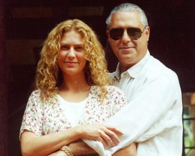 Um casal inesquecível: Luana e Bruno Mezenga. Patricia contracenou com Antônio Fagundes no sucesso 'O Rei Do Gado' (Foto: CEDOC)