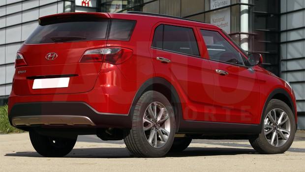 Versão SUV do HB20 será produzido em Piracicaba (SP) (Foto: Renato Aspromonte/Autoesporte)