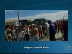 Moradores protestam por mais linhas de ônibus no Monsenhor Bernardino