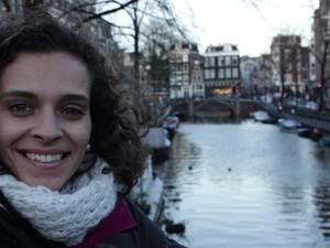 Tatiane está em Bruxelas desde o ano passado (Foto: Tatiane Afonso da Silva Rocha/Arquivo pessoal)