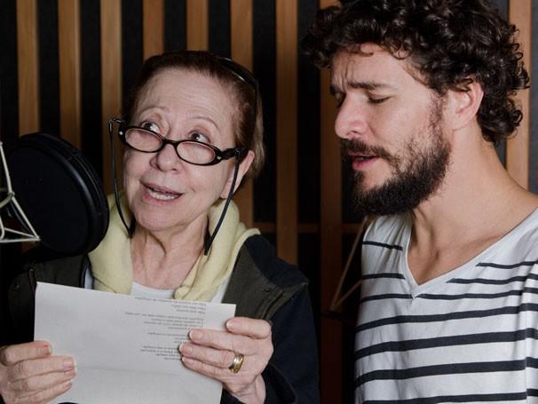 Fernanda Montenegro e Daniel de Oliveira estão no especial de fim de ano Doce de Mãe (Foto: Fabio Rebelo / Tv Globo)