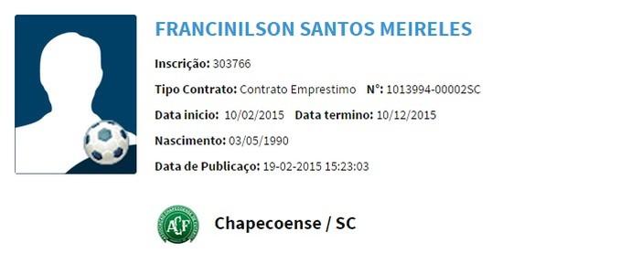 Maranhão BID CBF (Foto: Reprodução)