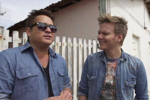 Dor de cotovelo é tema do papo entre Leonardo e Michel Teló em Bem Sertanejo (Rede Globo)