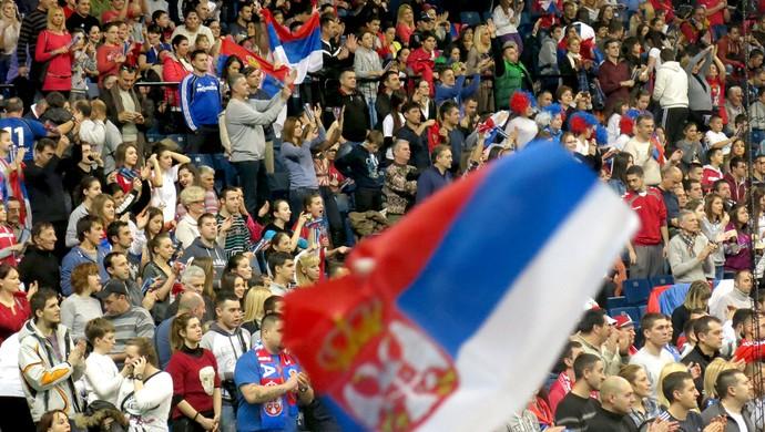torcida handebol final Mundial (Foto: Thierry Gozzer)