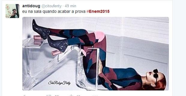 tuite enem 2 (Foto: Reprodução/ Twitter)