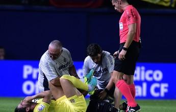 """Pato diz que teve apenas uma leve torção no tornozelo: """"Nada sério"""""""