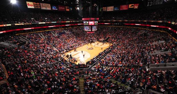 Us Airways arena Phoenix Suns (Foto: Divulgação)