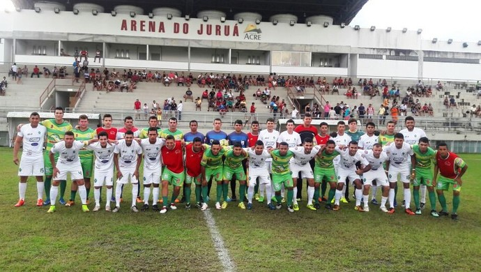 Náuas campeão de quadrangular na Arena do Juruá (Foto: Adelcimar Carvalho)