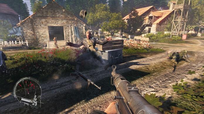 As fases de Enemy Front permitem que você comece uma batalha por qualquer lado (Foto: polygon.com)