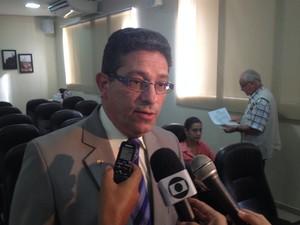 Afonso Guimarães, promotor de justiça do Ministério Público do Amapá (Foto: John Pacheco/G1)