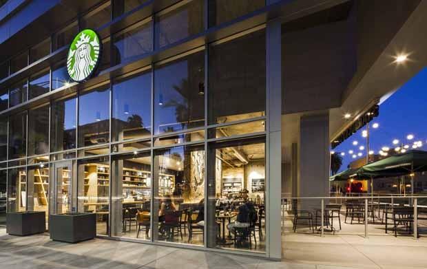 Exterior View (Foto: Starbucks/Divulgação)
