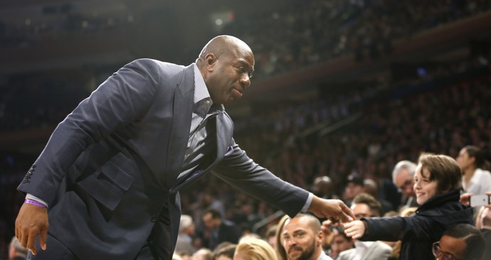 Magic Johnson, All Star Game, Basquete, NBA (Foto: AP)