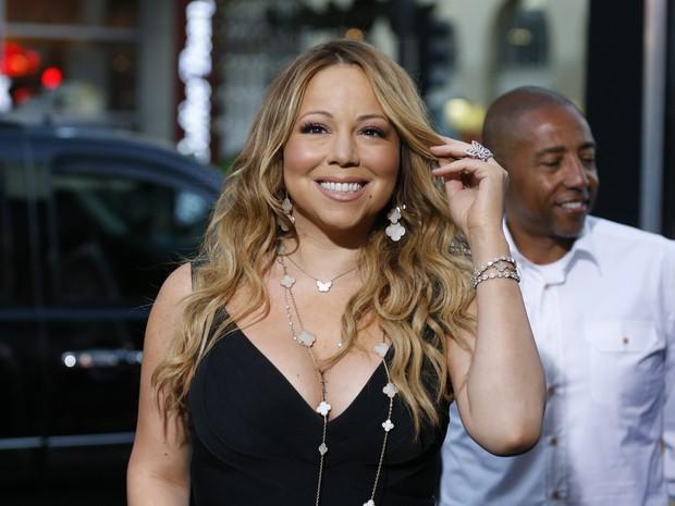 Mariah Carey em première em Los Angeles, nos Estados Unidos (Foto: Danny Moloshok/ Reuters)