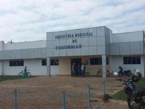 Os presos  na Operação Cadente foram proibidos de acessarem o prédio da prefeitura de Corumbiara e tiveram seus bens bloqueados. (Foto: Polícia Civil/Divulgação)
