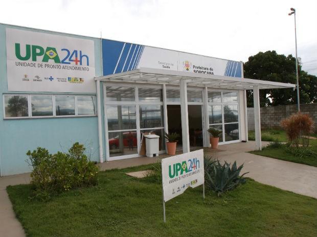 UPA do Éden fica na rua Miguel José Gimenes e funciona 24 horas (Foto: Assis Cavalcante)