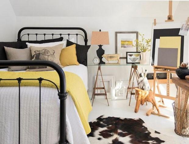 Quartos amarelos: 10 ambientes charmosos com a cor  (Foto: Divulga)