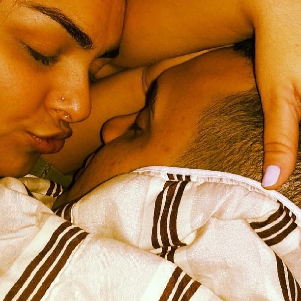 Melancia acorda cedo e deixa namorado na cama (Foto: Reprodução/Instagram)