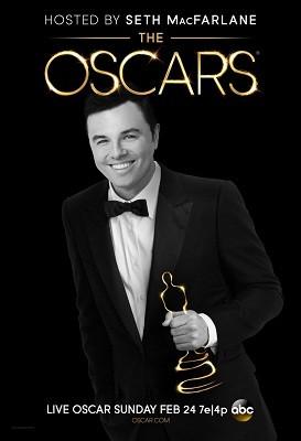 Pôster oficial do Oscar 2013 (Foto: Divulgação)