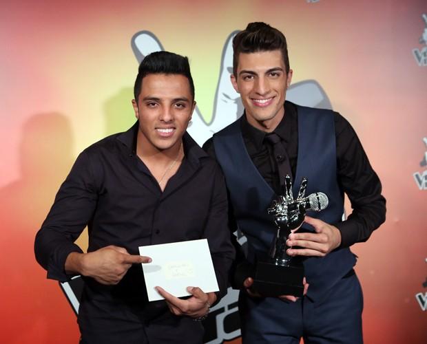 As vozes do Brasil! (Foto: Isabella Pinheiro/Gshow)