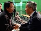 Delegado filipino anuncia greve de fome em reunião do clima