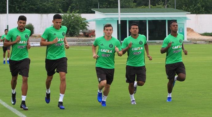 Juninho, Walisson Maia, Ruy, Yan, Iago, Coritiba (Foto: Divulgação/Coritiba)