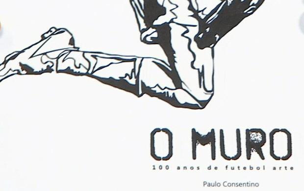 Capa livro O Muro CT Rei Pelé Santos Paulo Consentino (Foto: Reprodução / TV Tribuna)