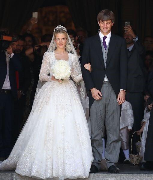 Ernst e Ekatarina: casamento não contou com a bênção do pai do noivo  (Foto: Getty Images)