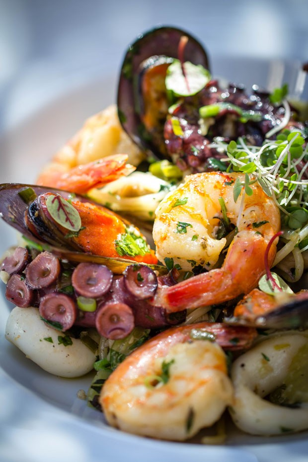 Receita: espaguete com frutos do mar (Foto: Divulgação)