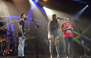Sorriso Maroto, Marcos & Belutti e Roupa Nova se encontram no Música Boa Ao Vivo. Veja o que rola no ensaio