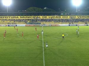 Luverdense x Vila Nova - Passo das Emas (Foto: Reprodução / PFC)