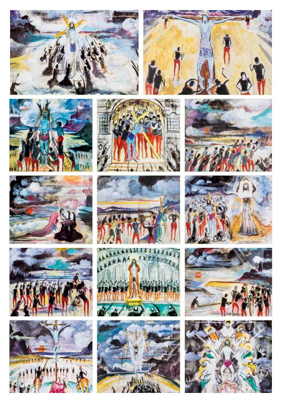 Um conjunto de obras de Alberto Guignard, avaliado em R$ 4 milhões, deixou os olhos do público em 1968. Por causa de uma disputa, só foi exposto duas vezes em 50 anos (Foto: reprodução)