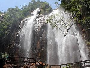 Cachoeiras Brotas (Foto: Recanto das Cachoeiras/Divulgação)
