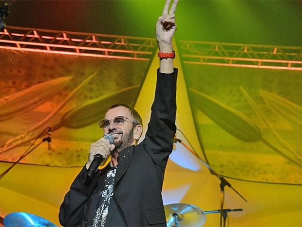 Ringo Starr encerra turnê brasileira no Recife (Foto: Divulgação)
