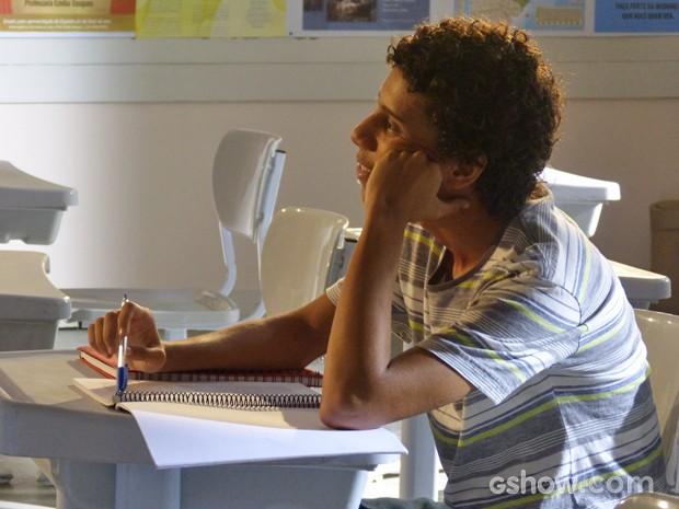 Paulino apaixonado (Foto: Malhação / TV Globo)