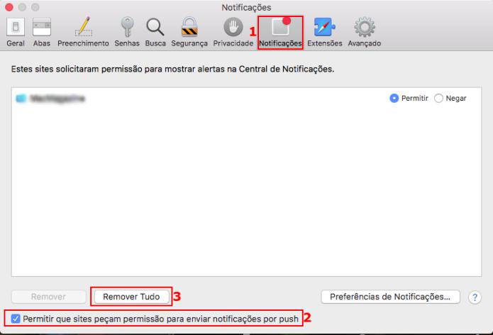 Desativando as notificações de sites no Apple Safari (Foto: Reprodução/Edivaldo Brito)