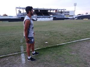 luiz fernando central (Foto: Vital Florêncio / GloboEsporte.com)