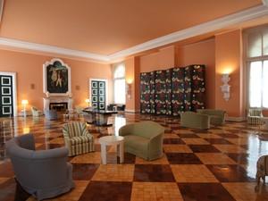 Interior do Palácio Quitandinha (Foto: Divulgação/Arquivo Sesc Rio)