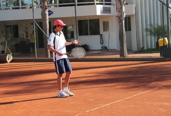 Jean Carlos Borges tenista tênis Uberlândia Praia Clube (Foto: Divulgação/Praia Clube)
