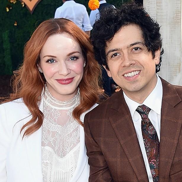 O ator Geoffrey Arend se casou em 2009 com a estrela da série 'Mad Men' Christina Hendricks. (Foto: Getty Images)