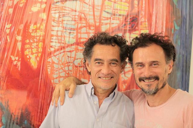Chico Diaz e Enrique Diaz (Foto: André Migueis)