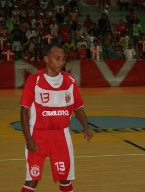 Almir, ala do futsal do América-RN (Foto: Augusto Gomes)