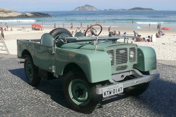 História da Land Rover no Brasil (Foto: Roberto Hirth)