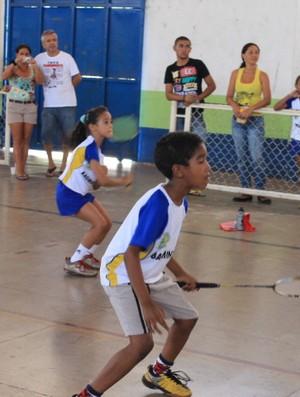 Badminton - Piauí (Foto: Náyra Macêdo/GLOBOESPORTE.COM)