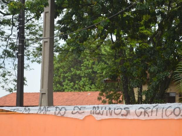 Alunos ocupam E. E. Paulo Moraes Cavalcante em Piracicaba (Foto: Carol Giantomaso/G1)